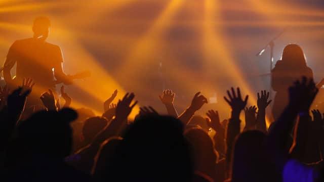Un concert dans le Rhône vers le Beaujolais