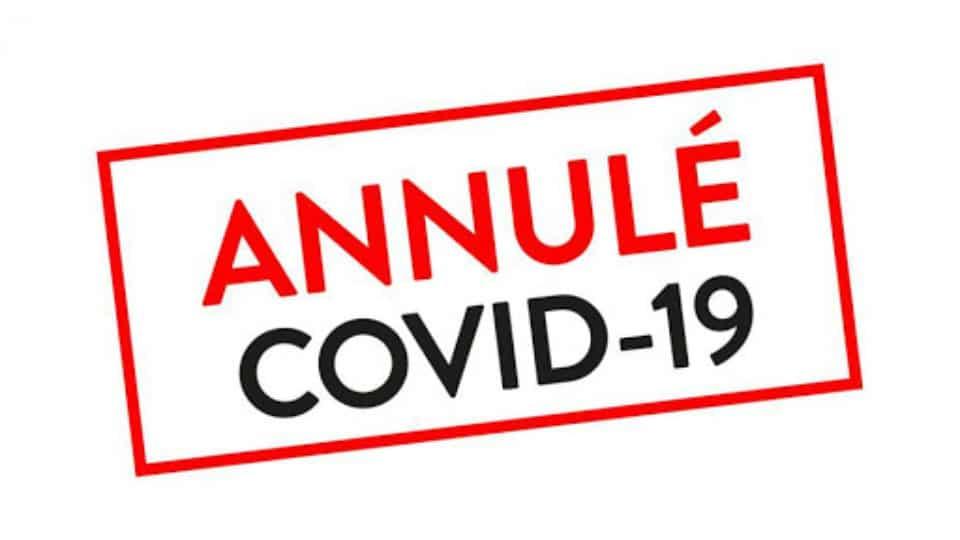 Annulation covid 19